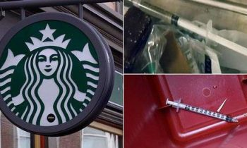 Starbucks устанавливает в туалетах контейнеры для утилизации использованных наркоманами игл, чтобы «защитить персонал»