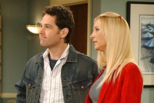 Пол Радд появился в эпизоде «Друзей», сыграв мужа Фиби