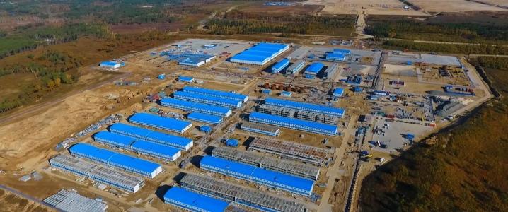 «Газпром» рассчитывает привлечь 14 миллиардов долларов для строительства крупнейшего в России газоперерабатывающего завода