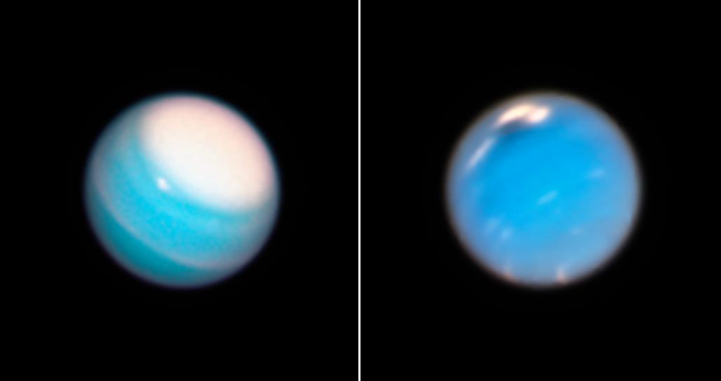 Получены новые фотографии Урана и Нептуна