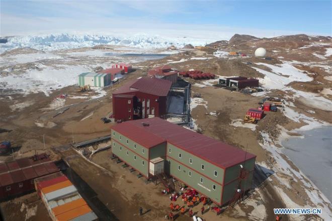 Главный антарктический форпост Китая получит собственный аэропорт