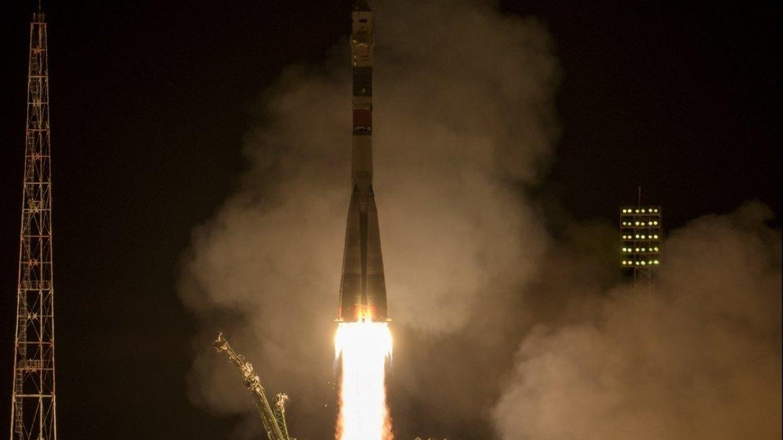 Пилотируемый корабль «Союз МС-12» успешно вышел на целевую орбиту