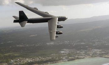 Стратегический бомбардировщик США заметили у границ Ленобласти