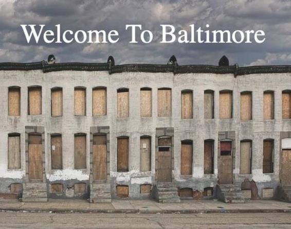 Балтимор получил титул города, где больше всего совершается ограблений в Америке
