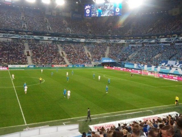 «Зенит» одержал победу в домашнем матче против московского «Динамо»