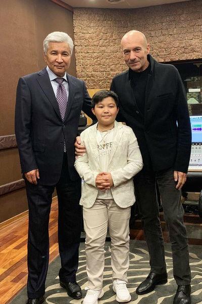 Ержан станет воспитанником музыкальной академии Крутого