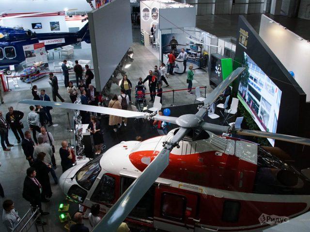 Главная вертолетная выставка страны вогнала посетителей в тоску