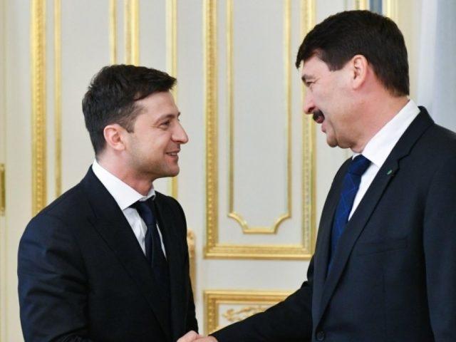 Зеленский ждет поддержки Венгрии по интеграции Украины в ЕС и НАТО