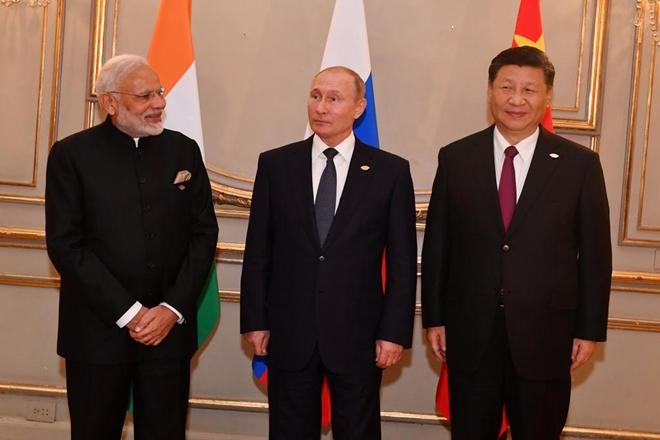 Лидеры Китая, России и Индии выступили за многосторонний мировой порядок