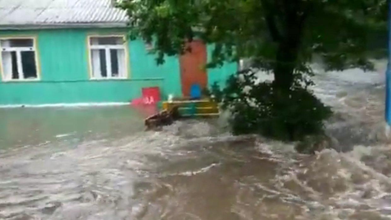 Режим ЧС введен в Лазовском районе Приморья