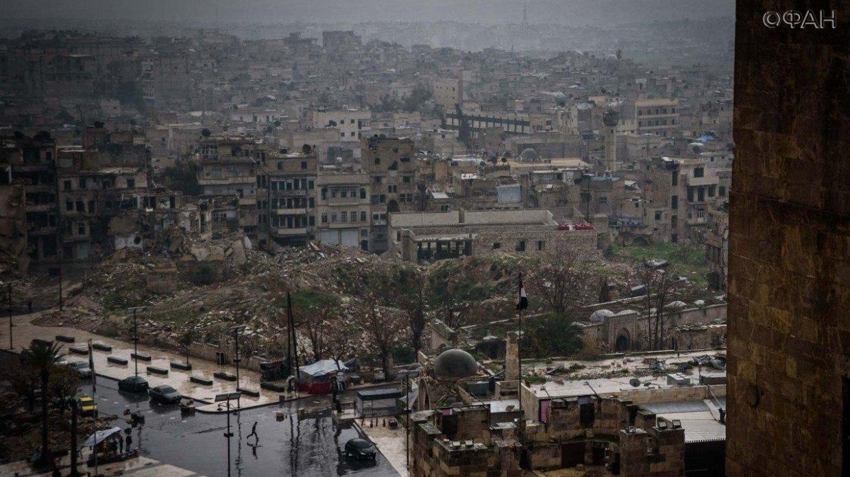 Боевики в Сирии обстреляли населенныепункты провинцийАлеппо, Идлиб и Латакия