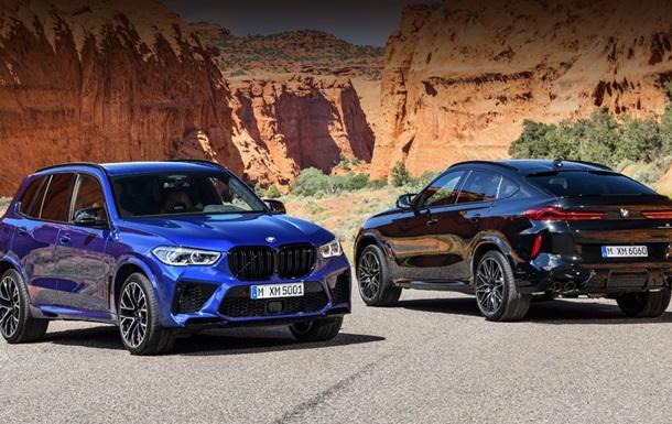 BMW рассекретила  заряженные  X5 и X6