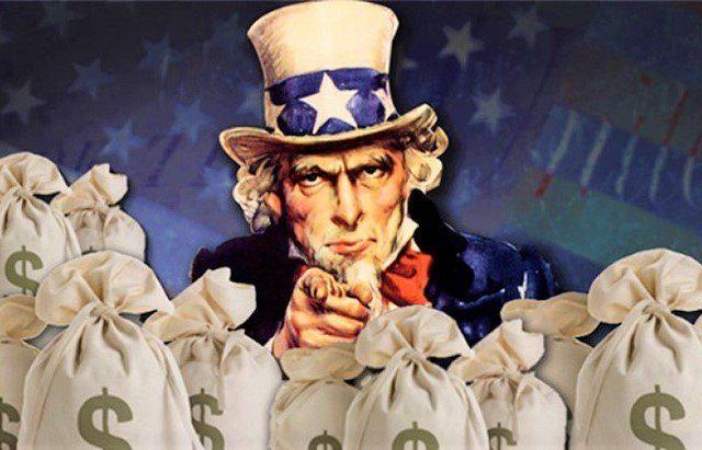 Чтобы оставаться на плаву после 2020-го года, США необходимо продать $12 триллионов новых долговых обязательств