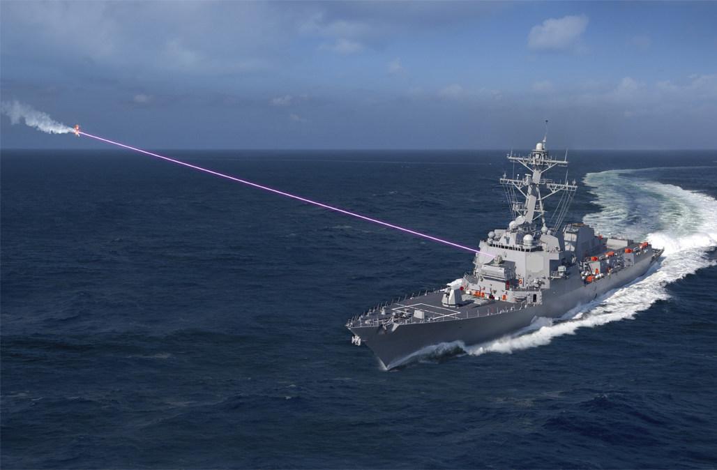 Пентагон переносит основной акцент на технологии лазерного оружия