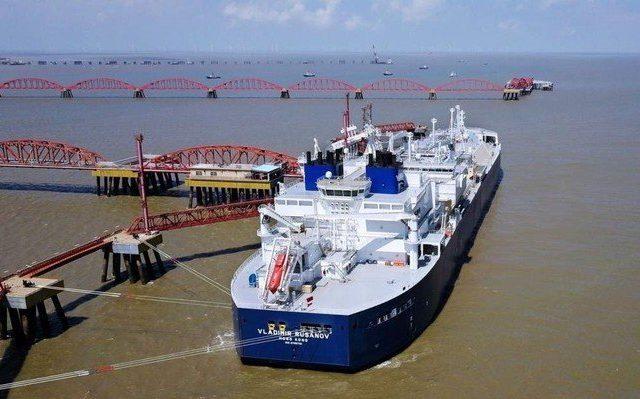 У Китая и России амбициозные планы по поводу развития арктического торгового маршрута
