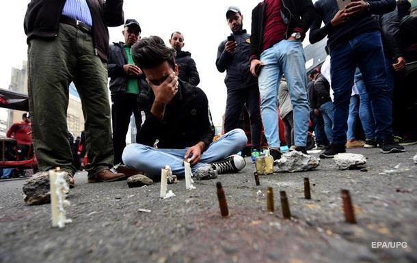 В Ираке неизвестные открыли стрельбу по протестующим: 25 погибших