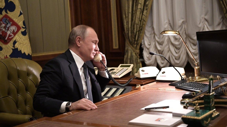 Путин обсудил с Меркель предстоящую конференцию по ливийскому урегулированию в Берлине