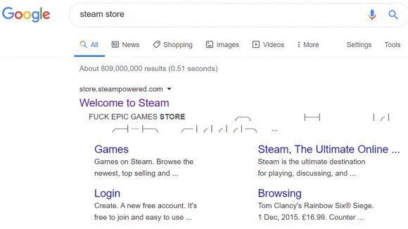 За что магазин игр Steam матерно послал своего конкурента Epic Games Store