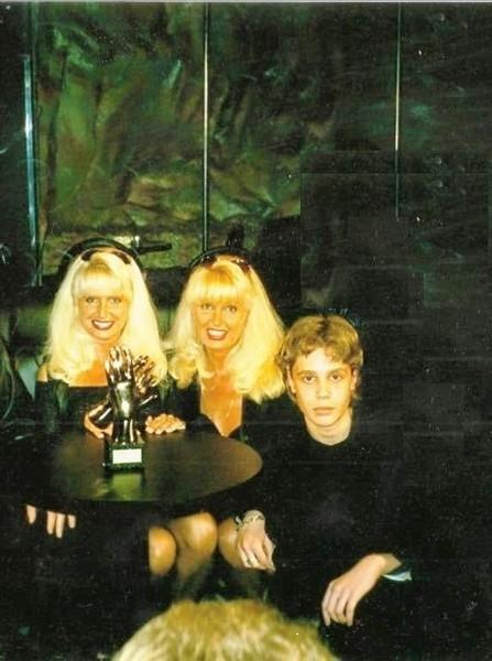Елена и Татьяна Зайцевы с Алексеем