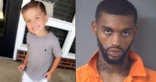Американские СМИ замалчивают жестокое убийство 5-летнего белого ребенка черным мужчиной