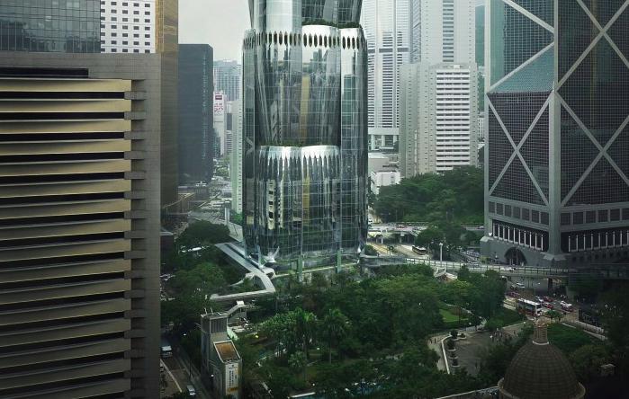 «Умный» небоскреб-орхидею построят вГонконге