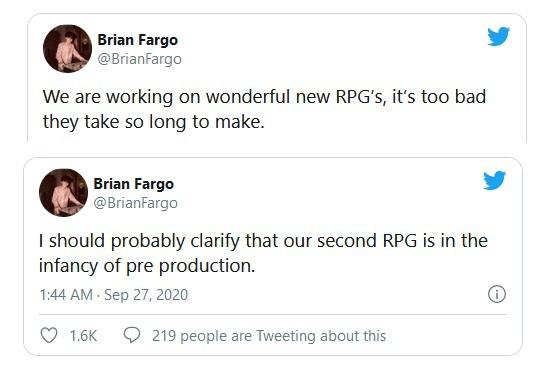 Разработчик Wasteland 3 анонсировал две новые ролевые игры