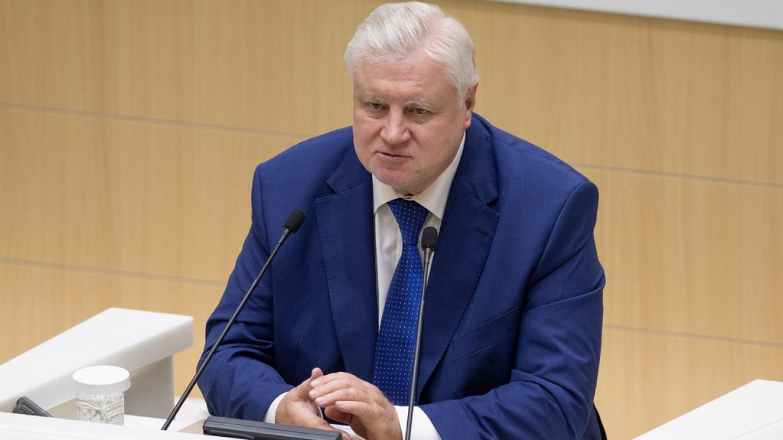 Сергей Миронов о сменщике Лукашенко, болезни Навального и судьбе СП-2