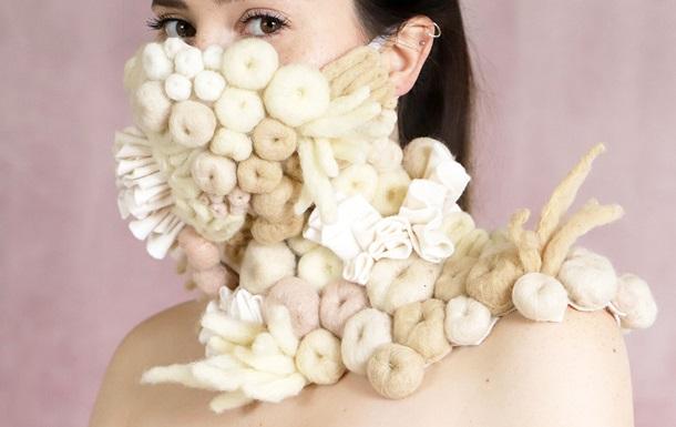 От листвы до кораллового рифа — самые причудливые маски во время пандемии