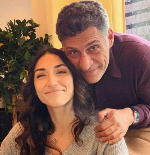 Тигран Кеосаян с дочерью