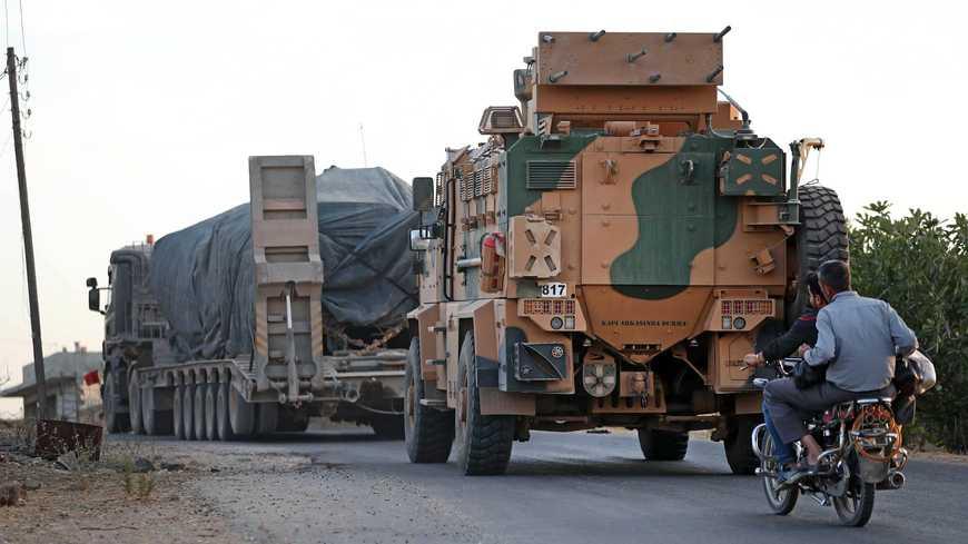 Al-Monitor: Турция выводит войска с крупнейшей базы на северо-востоке Сирии