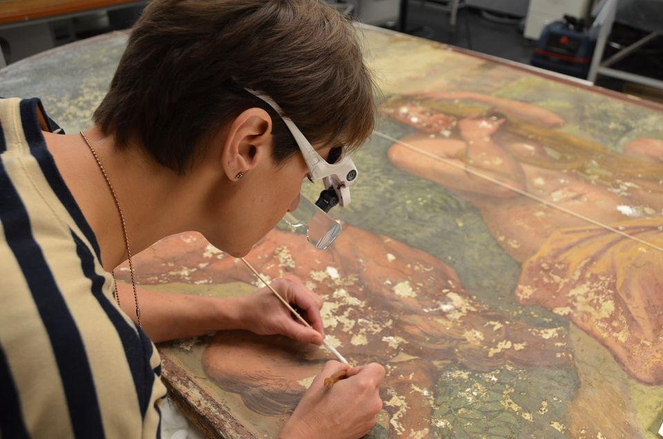 США и Россия «оставили в стороне политику», чтобы восстановить фрески Рафаэля