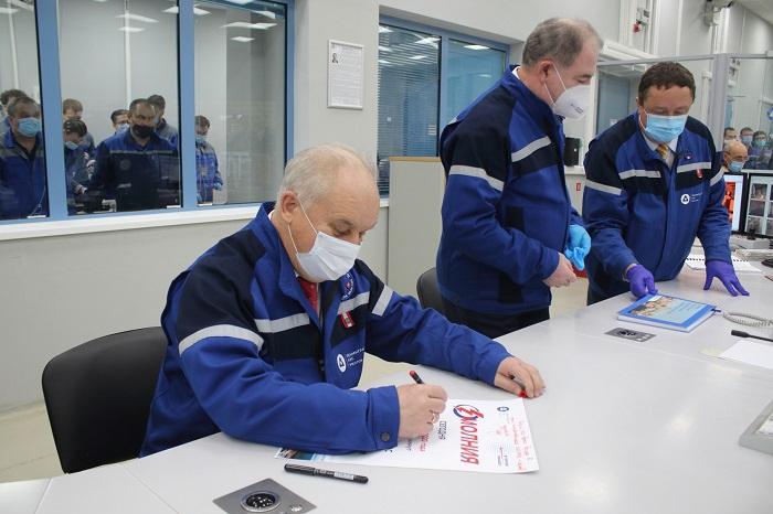 Новый энергоблок запущен на Ленинградской АЭС