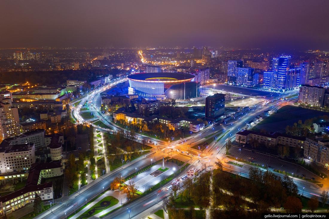 Каким удивительно прекрасным оказался Екатеринбург на фото с дрона
