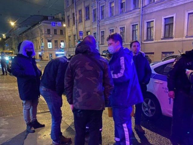 Петербуржцы сообщили о перестрелке в центре города