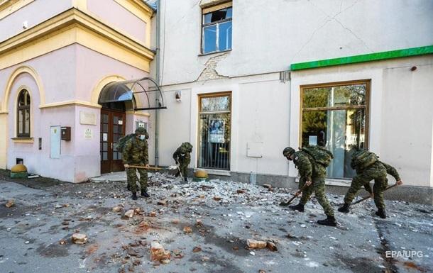 В Хорватии от землетрясения пострадало посольство Украины