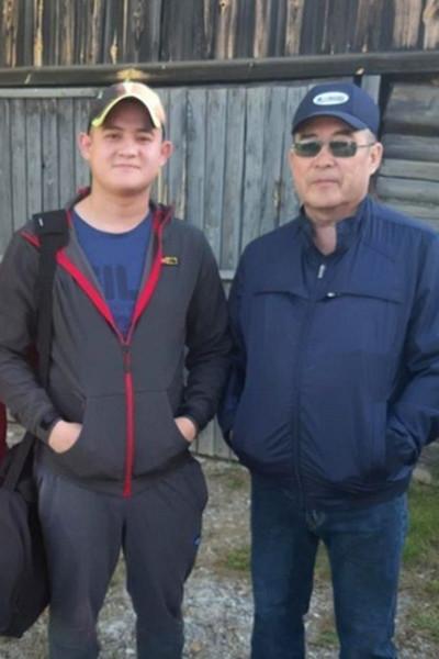 Рамиль с отцом