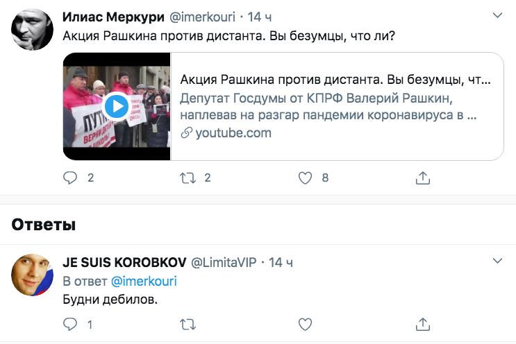 «Битва коммуниста сцифровым миром»: Рунет высмеял пикет Рашкина