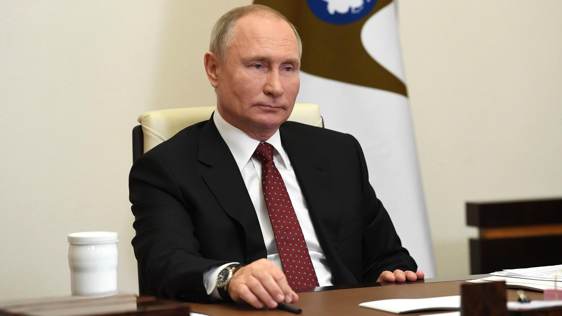 Путин наградил актера Векслера почетным званием «Заслуженный артист России»