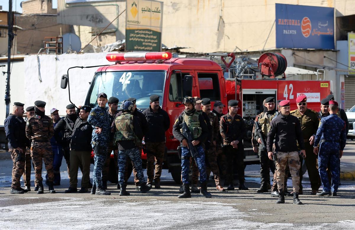 Два смертника взорвали себя на рынке Багдада. Погибли 32 человека