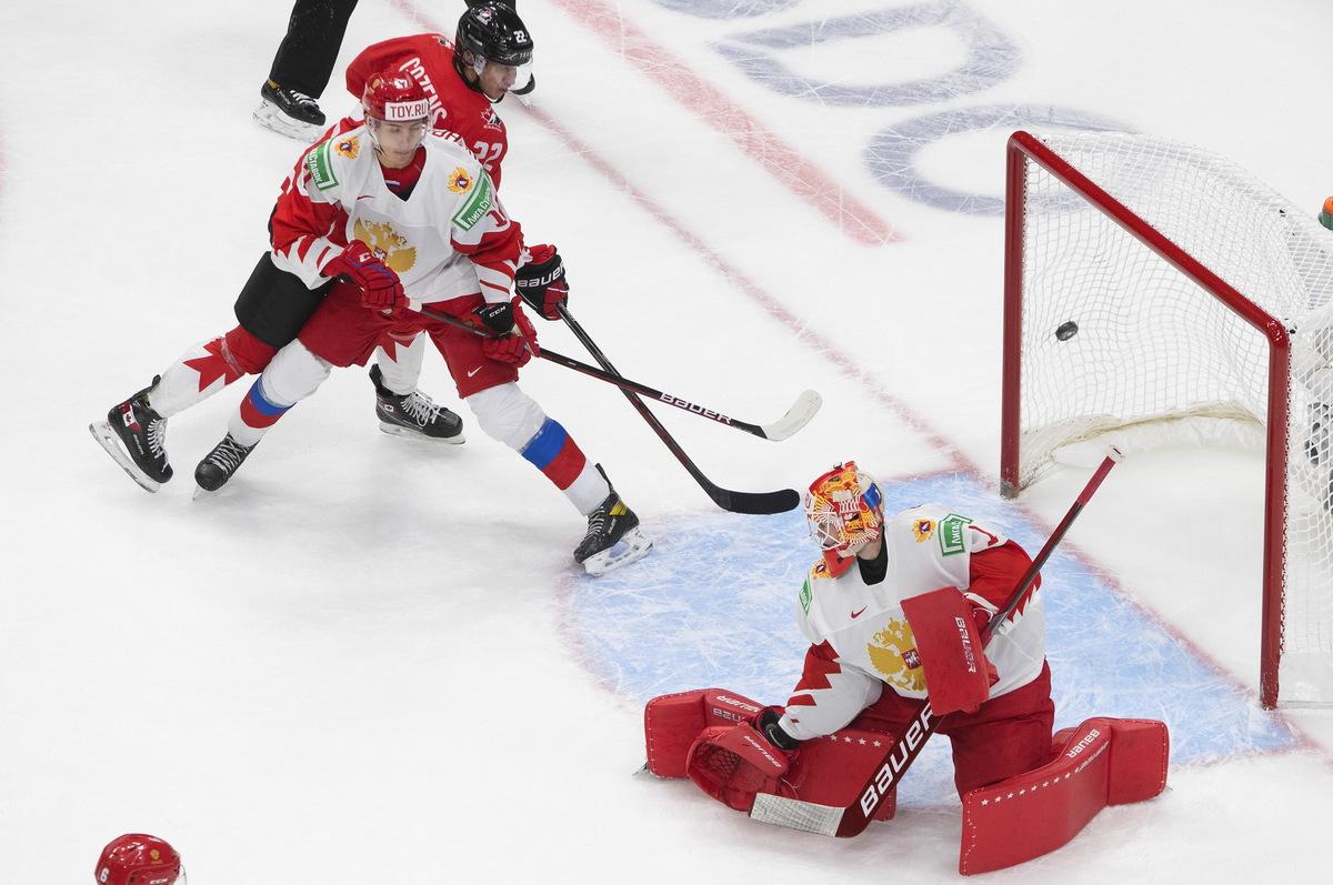 Сборная Канады разгромила российских хоккеистов на МЧМ