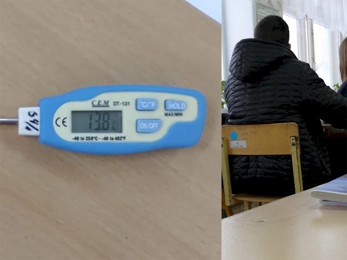 «Надышат»: директор школы не увидела проблем замерзающих учеников