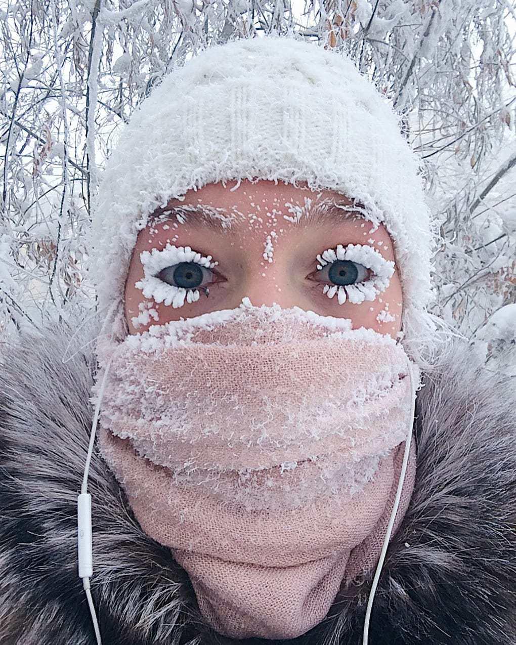 Россию сковал аномальный холод