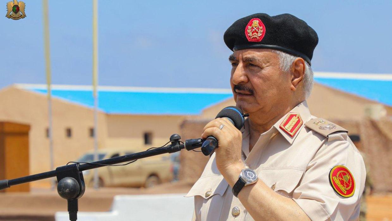 Вершинин: Политический диалог по Ливии должен включать Хафтара и сторонников Каддафи