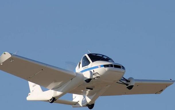 В США презентовали авто, превращающееся в самолет