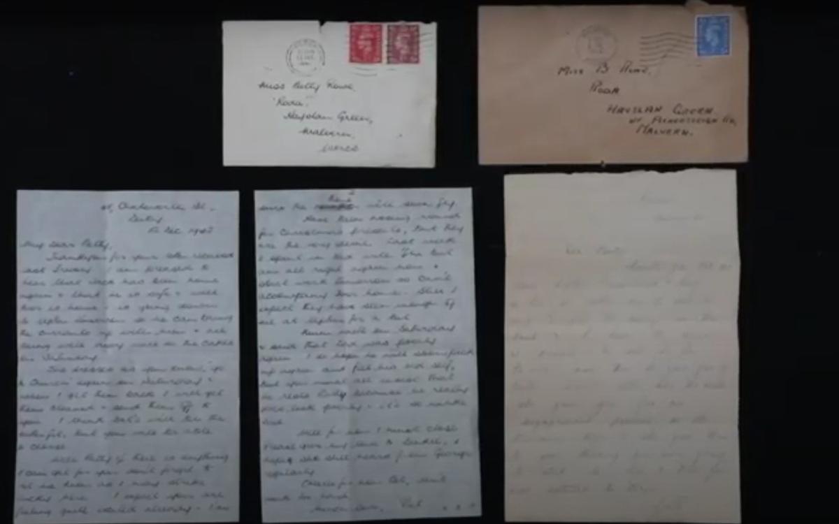Пара нашла письма, доказывающие, что в отношениях людей ничего не меняется