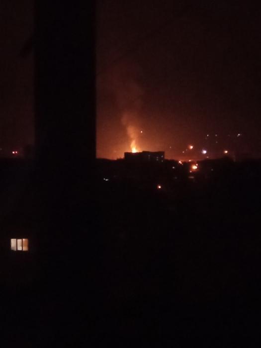 Газораспределительный узел взорвался в Луганске