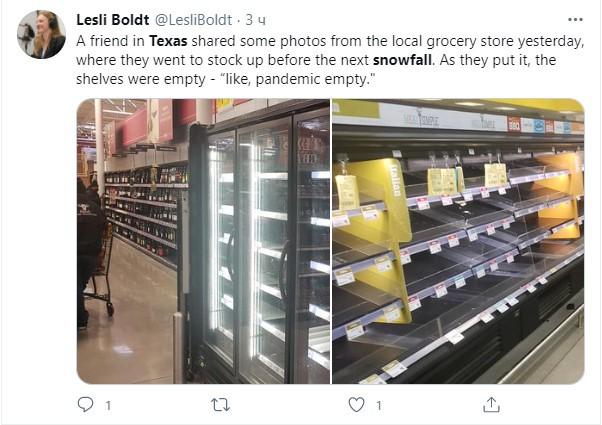 Жители жаркого Техаса показали, как они выживают под толщей снега