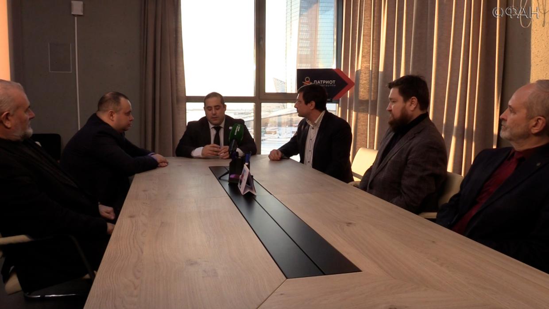 Сербский политик принял участие в круглом столе медиацентра «Патриот». ФАН-ТВ