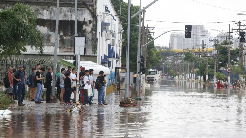 130 тысяч человек пострадали из-за наводнения в Бразилии
