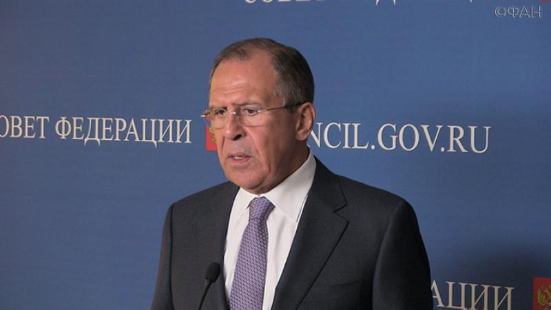 Лавров заявил, что приезжающие в Россию министры придерживаются методички